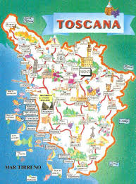 Map Of Genoa Italy by All Rounded Tuscany Tourist Map Tuscany And Italy