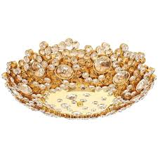 brass flush mount light palwa crystal glass encrusted gold plated brass flush mount ceiling