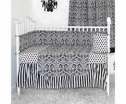 Damask Crib Bedding Sets Sleeping Partners Damask Black And White 4 Baby Crib Bedding Set 11 Jpg