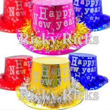 New Years Decorations 2016 by 12 New Years Hats Party Supplies Decorations Decor Happy New Year