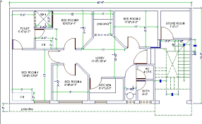 4 room house autocad drawings for house plans internetunblock us