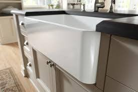 Blanco  CERANA Reversible Rounded Or Contemporary Apron Front - Fireclay apron front kitchen sink