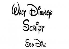 creative walt disney cursive tattoo font pictures fashion gallery