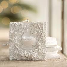 voskamp greatest gift sculpted ornament set dayspring