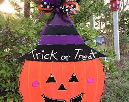 Outside Halloween Decorations Outdoor Halloween Decorations Etsy