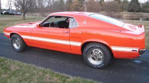 1969 mustang orange 1969 ford shelby gt500 4 speed orange 3056 benzamotors