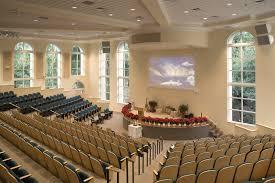 sanctuary with slanted row seating valiant church pinterest