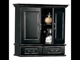 Black Bathroom Wall Cabinet Mesmerizing Bathroom Wall Cabinet Black On Best