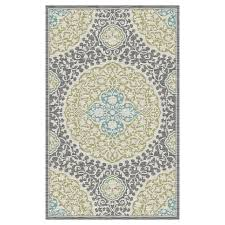 Mohawk Outdoor Rug Shop Mohawk Home Tahj Sage Rectangular Indoor Tufted Area Rug