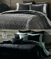 sahara silver duvet cover set double black velvet duvet covers