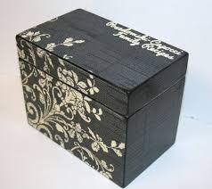 Engravable Music Box Recipe Box Yw Laurels Pinterest Recipe Box Recipe Cards And