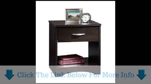 Sauder Computer Desk Cinnamon Cherry by Sauder Beginnings Night Stand Cinnamon Cherry Youtube