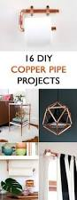 16 diy copper pipe projects for home décor pipes craft and house