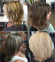 just above the shoulder haircuts with layers 80 sensational medium length haircuts for thick hair in 2018