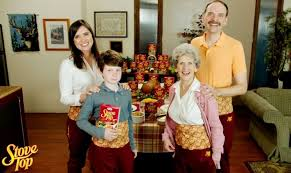 stove top selling comical thanksgiving dinner