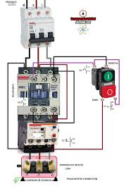 contactors wiring diagram how to wire a contactor for 3 phase in