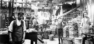 The Chair Factory Glenister U0027s Chair Factory View Of Men And Boys In Glenister U0027s