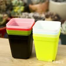 personalized flower pot buy 2014 plastic flower pot small square pots bonsai plants
