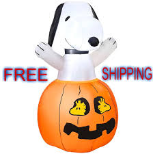 halloween inflatable airblown peanuts by schulz 3ft snoopy in