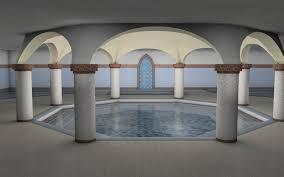 Turkish Interior Design 3d Visualization And Interior Design Of Turkish Bath Judit Hollo