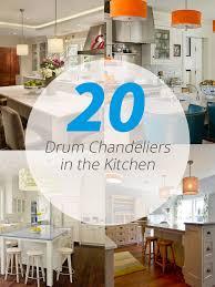 Chandelier Kitchen 20 Cool Drum Chandeliers In The Kitchen Home Design Lover