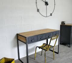 bureau miliboo caisson bureau industriel remarquable bureau industriel ensemble