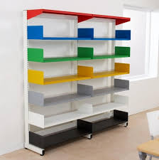 Decorate Office Shelves by Attractive Wall Mounted Shelving For Small Or Large Space Home