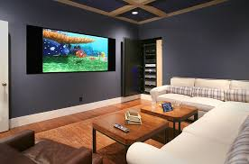 home theater with hidden speakers definitive audio