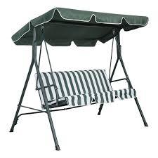 Ebay Patio Umbrellas by Abba Patio Outdoor Veranda 3 Triple Seater Hammock Canopy Swing