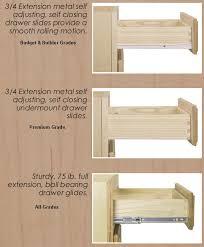 self closing cabinet drawer slides cabinet drawer slides planinar info