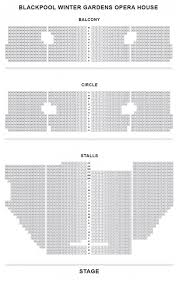blackpool opera house seat plan for mamma mia blackpool