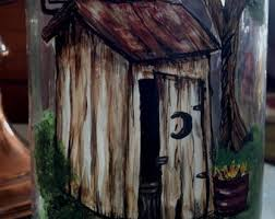 Outhouse Bathroom Outhouse Bathroom Etsy