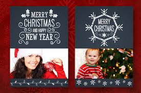 photo insert christmas cards free chalkboard christmas card insert corel discovery center