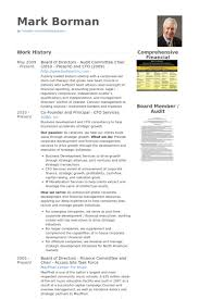 Sample Of Comprehensive Resume by Board Of Directors Resume Samples Visualcv Resume Samples Database