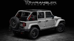 jeep wrangler unlimited grey 2018 jeep wrangler and wrangler unlimited production and launch