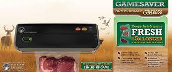 Outdoorsman Home Decor Amazon Com Foodsaver Gamesaver Outdoorsman Vacuum Sealing System