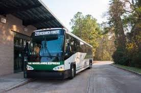the woodlands express park and ride the woodlands township tx