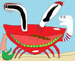 oh boy its mr krabs by lordpeng on deviantart