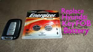 2007 hyundai sonata battery replace hyundai key fob battery
