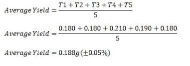 percentage yield lab answers schoolworkhelper
