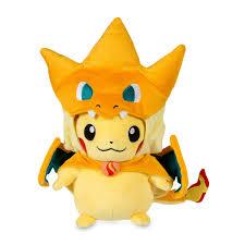 pikachu costume mega charizard y costume pikachu poké plush pokémon center