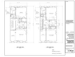 Nyc Brownstone Floor Plans Brownstone Alteration Mark Denison Archinect
