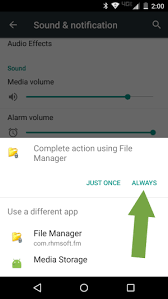 apps wont on android how to change default apps in android