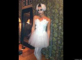 photos celebrities dress up for halloween white swan home made