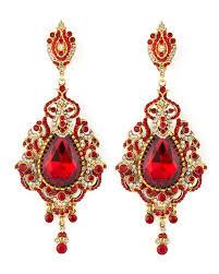 teardrop chandelier earrings jose barrera teardrop chandelier clip earrings