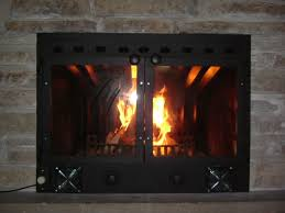 file custom fitted fireplace insert b jpg wikimedia commons