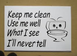 keep the bathroom clean toilet toilet sign bathroom notice wall plaque keep me clean