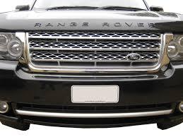 range rover front chrome grille surround for range rover l322 2010 tdv8 ebay