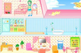 Dolls House Decorating Games Decoration Game With A Doll U0026 39 S House