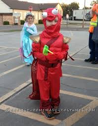 Lobster Costume Homemade Little Red Lobster Costume